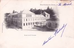 52 - Haute Marne -  BOURBONNE Les BAINS - Bains De 2 E Classe -  Carte Precurseur - Bourbonne Les Bains