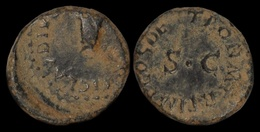 Claudius AE Quadrans - 1. La Dinastia Giulio-Claudia Dinastia (-27 / 69)