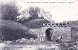 29 - Finistere -  PORSPODER - Ruines Du Chateau De Kerenneur - Otros Municipios