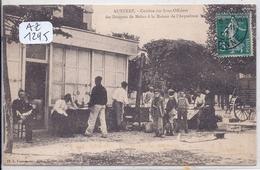 AUXERRE- CANTINE DES SOUS-OFFICIERS- LES DRAGONS DE MELUN A LA MAISON DE L ARQUEBUSE - Auxerre