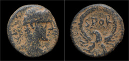 Judaea Samaria Caesarea Maritima Under Severus Alexander AE19 - Romane