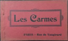 """20 Cpa, Carnet """"les Carmes"""" Rue De Vaugirard Paris 6 E, éd F.Fleury, RELIGION,PRISON,REVOLUTION Française,MARTYRS - Arrondissement: 06"""