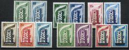 CEPT Jahrgang 1956 Postfrisch - Michel 487 € - 1956