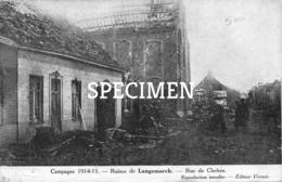 Ruines De Langemark - Rue De Clerken - Langemark-Poelkapelle