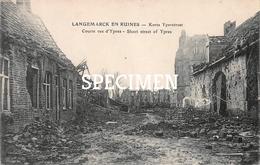 Langemark En Ruines - Korte Yperstraat - Langemark-Poelkapelle