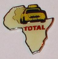 Pin's TOTAL, RALLYE AFRIQUE - Badges