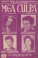 "Grand Prix De La Chanson Française Deauville 1954 ""Mea Culpa"" Edith Piaf, Mouloudji, Dany Dauberson, Line Andres..... - Musik & Instrumente"