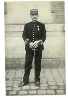 CARTE PHOTO MILITAIRE COLONEL ? EN GRANDE TENUE MEDAILLE COL 76eme NON SITUEE - Guerre 1914-18