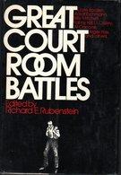 Great Court Room Battles Editedby Richard E. Rubenstein 1973 - Livres, BD, Revues