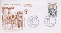 Enveloppe  FDC  1er  Jour   FRANCE   VILLENEUVE  LEZ  AVIGNON     GARD    2010 - 2010-....