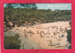 Modern Post Card Of Cala Santanyi,Mallorca,Balearic Islands, Spain,A64. - Mallorca