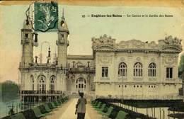 95  Enghien Les Bains Le Casino Et Le Jardin Des Roses / A 614 - Enghien Les Bains
