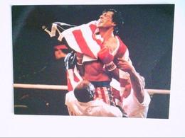 Sylvester Stallone. Boxring. AK. - Advertising