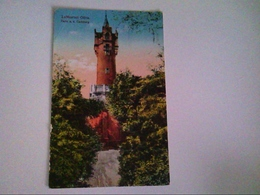 Oliva. Turm A.d. Carlsberg. AK. - Postcards