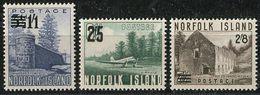 Norfolk Isl. 1960. Michel #37/39 MNH/Luxe. Aviation. Airplanes. Airfield (Ts16) - Norfolk Island