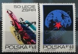 Pologne 1972 / Yvert N°2056-2057 / ** - 1944-.... Republic
