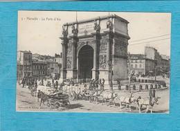 Marseille. - La Porte D'Aix. - Canebière, Centre Ville