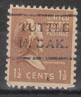 USA Precancel Vorausentwertung Preo, Locals North Dakota, Tuttle 716.5, Stamp Defect - Vereinigte Staaten