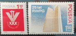 Pologne 1974 / Yvert N°2150+2154 / ** - 1944-.... Republic