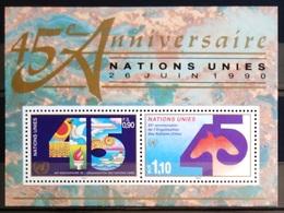 NATIONS-UNIS  GENEVE                  B.F 6                      NEUF** - Blocks & Kleinbögen