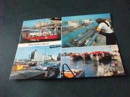 NAVE SHIP NAVIRE BOAT BATEAU BARCONE EXPRESS 70 RHEINHAFEN BASEL VEDUTE - Houseboats