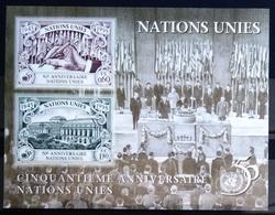 NATIONS-UNIS  GENEVE                  B.F 7                      NEUF** - Blocks & Kleinbögen
