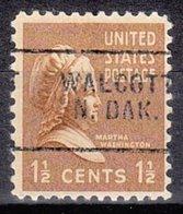 USA Precancel Vorausentwertung Preo, Locals North Dakota, Walcott 703 - Estados Unidos