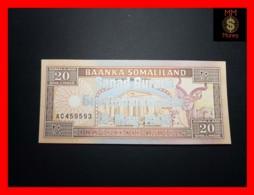SOMALILAND 20 Shilin 18.5.1996  P. 16 *COMMEMORATIVE* Silver Overprint RARE  UNC - Other - Africa