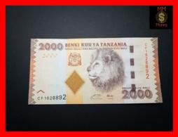 TANZANIA 2.000 2000 Shilingi 2010 P. 42 A   UNC - Tanzania