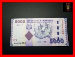TANZANIA 5.000 5000 Shilingi  2010P. 43 A  UNC - Tanzania
