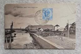 Cartolina Postale Gibilterra - Seen From Algeciras 1910 - Gibraltar