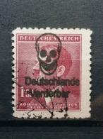 Böhme Und Mähren Aufdruck Deutsche Verderber Mi-Nr.97 Gestempelt - Boemia E Moravia