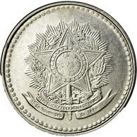 Monnaie, Brésil, 10 Cruzados, 1988, TTB, Stainless Steel, KM:607 - Brasil
