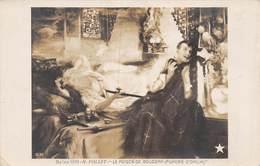 20-7714 : SALON DE PARIS. 1910.  LE POISON DE BOUDDAH. FUMEUR D'OPIUM PAR H. VOLLET. DROGUE. - Peintures & Tableaux