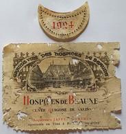 "ETIQUETTE BOURGOGNE/ HOSPICE DE BEAUNE ""CUVEE GUIGONE DE SALIN - Bourgogne"