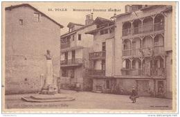 CORREZE    TULLE    MONUMENT DOCTEUR  MACHAT    (CARTE  RARE) - Tulle