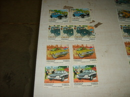 Tintin  Cote D'or Lot De 9  Vignettes - Livres, BD, Revues