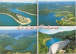 Environs De Pleaux Le Lac D' Enchanet - Francia
