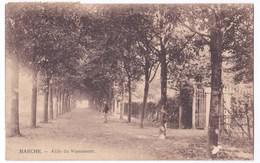 Marche Cpa Allée Du Monument Anno 1920 - Marche-en-Famenne