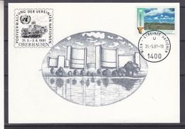 Nations Unies - Vienne - Carte Postale De 1991 - Oblit Wien - - Centre International De Vienne