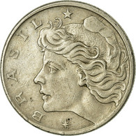 Monnaie, Brésil, 10 Centavos, 1967, TTB, Copper-nickel, KM:578.1 - Brasil