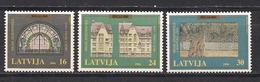 Latvia 1996  800th Anniversary Of Riga. Mi 440, 442. 443 - Lettonie