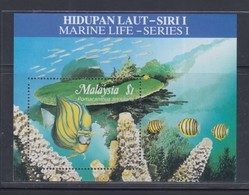 Malaysia 1988 Marine Life(1st Series) M/S MNH - Maleisië (1964-...)