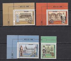 Latvia 1997 800th Anniversary Of Riga. Mi 467 - 470 (T) - Lettonie