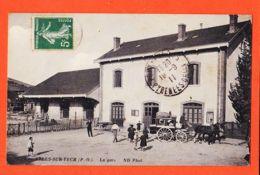 Nw055 ARLES-sur-TECH (66) La GARE Malle Poste Hippomobile 1911 De Juliette SORS à Elisa BOUTET Port-Vendres /NEURDEIN 8 - Sonstige Gemeinden