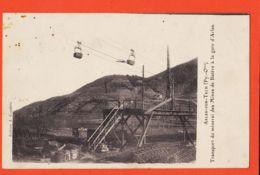 Nw066 ARLES-sur-TECH Transport Minerai GARE Mines De BATERE 1909 SORS à JUSTAFRE C GARIDOU Epicier Port-Vendres COUDERC - Autres Communes