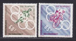 DAHOMEY N°  211 & 212 ** MNH Neufs Sans Charnière, TB (D7506) Sports Jeux Olympiques De Tokyo 1964 - Benin - Dahomey (1960-...)