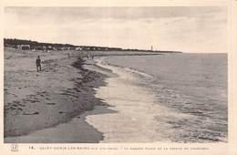 20-7771 : ILE D'OLERON. SAINT DENIS LES BAINS. PLAGE - Ile D'Oléron