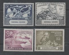 Sierra Leone, MNH, 1949, Michel 171_4, 75th Anniversary Of UPU - Sierra Leone (1961-...)