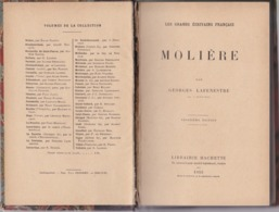 Molière - Les Grands Écrivains Français - Georges Lafenestre - Éditions Librairie Hachette 1923 - Theatre